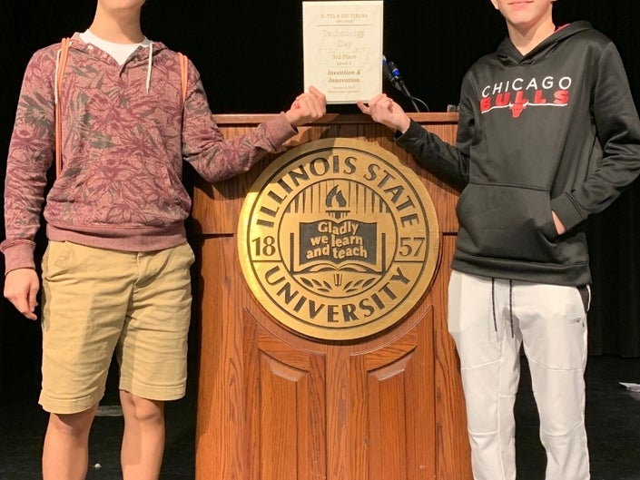 Joliet West Students Place Third at Technology Day Competition