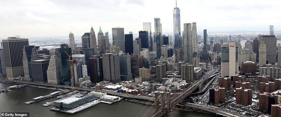 The simulation allows users to go anywhere in the world, such as New York City, without leaving their home