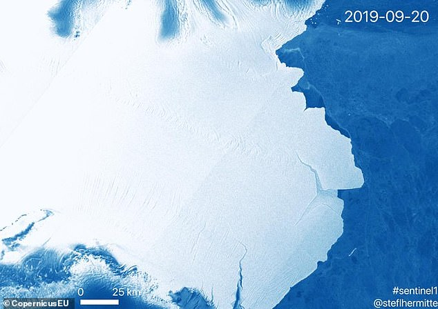 Although some may point to climate change as the cause for the separation, Scripps and her team say this event is not linked to it. Scientists have said that this is a natural event and this is how 'ice streams maintain equilibrium, balancing the input of snow upstream'