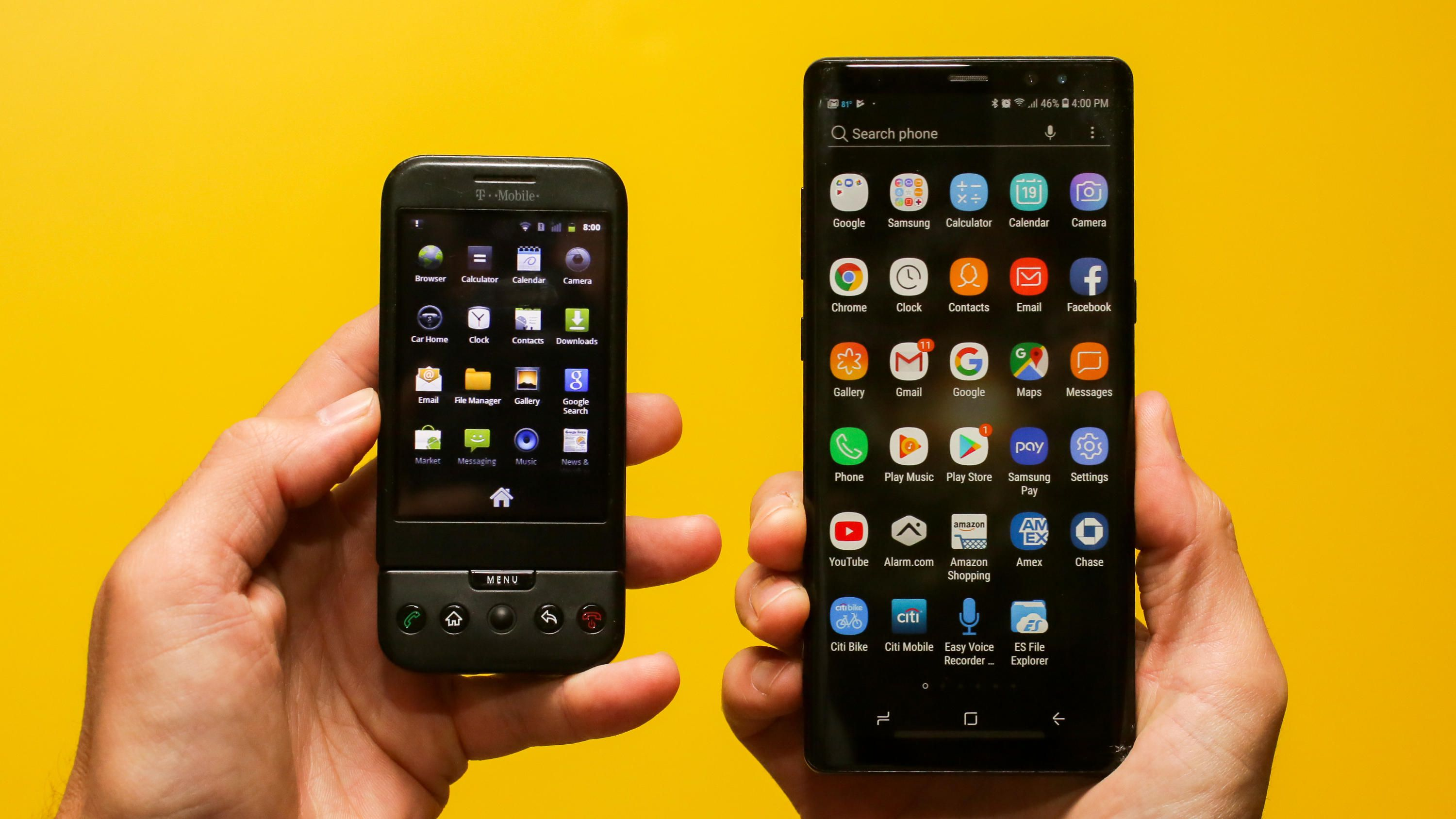 remembering the first Google Android Phone: HTC T Mobile G1