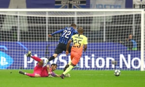 Manchester City's Claudio Bravo was sent off for his foul on Atalanta's Josip Ilicic but is in line to play against Liverpool.