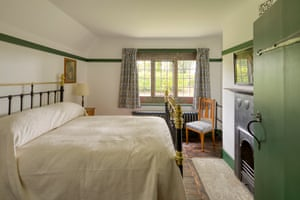 Bedroom at Winsford Cottage Hospital in Devon, a Landmark Trust property