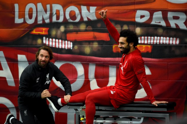 Mohamed Salah was criticised by Phil Thompson following Liverpool's midweek win over Genk