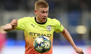 Kevin De Bruyne will be key for Manchester City at Liverpool.