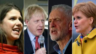 Main party leaders
