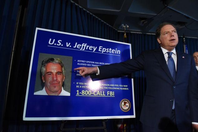 Jeffrey Epstein is the fourth most Googled celebrity death of 2019 in the U.S.