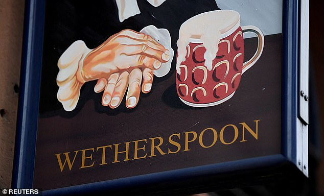 Expansion drive: JD Wetherspoon is to build 60 new pubs and 'a few' new hotels, while a further 80 existing pubs across the UK and Republic of Ireland will be doubled or tripled in size