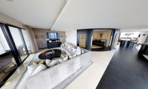 The 44th-46th floor penthouse at Beetham House, Manchester