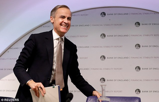 Bank of England governor Mark Carney is departing the Bank of England after six years