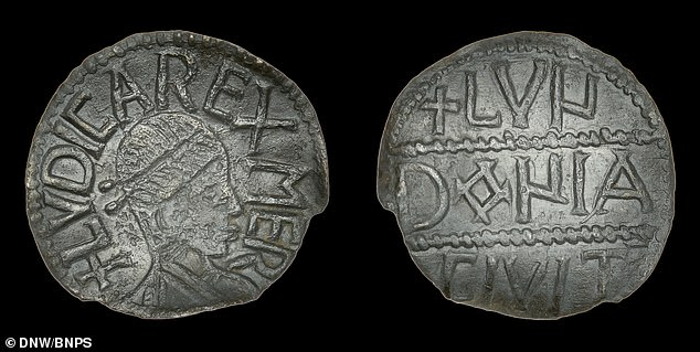 A rare 1,300-year-old coin featuring the face of an obscure Saxon king could sell for £15,000 at auction after its owner spent three years trying to prove its authenticity