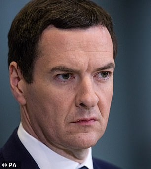 George Osborne was part of the government that first cleared Huawei to work in the UK