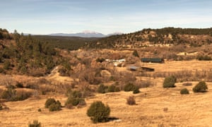 View from the train near Raton, New Mexico, USA.