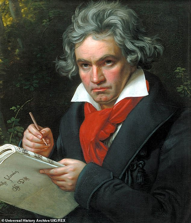 The researchers found Ludwig van Beethoven was among the least original composers according to computer comparison of his works with others