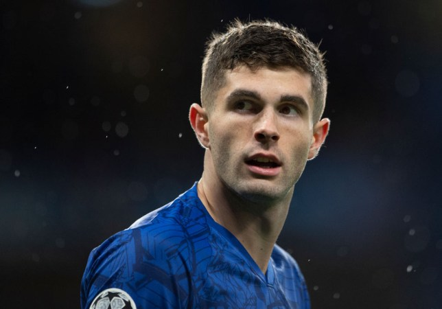 Christian Pulisic has been missing for Chelsea due to a thigh injury