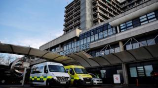 The Royal Free Hospital, London, is treating one of the new patients