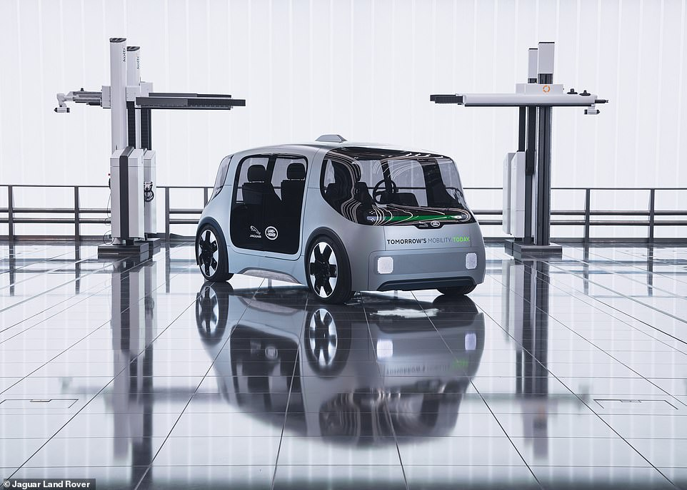 The car giant described Project Vector an advanced, flexible, multi-use electric vehicle that is 'autonomy-ready'