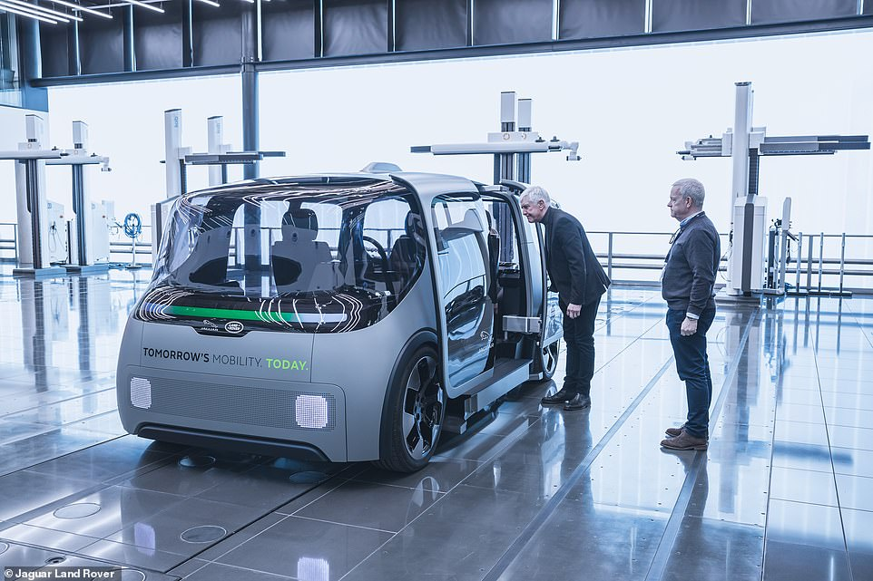 The trial is part of the manufacturer's 'bold next step' in the journey towards creating a hi-tech future of vehicles with 'zero emissions, zero accidents and zero congestion' which it calls its 'Destination Zero'