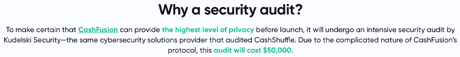 Raising $100K for Cashfusion's Security Audit, Bitcoin.com Matches Donations to Improve BCH Privacy