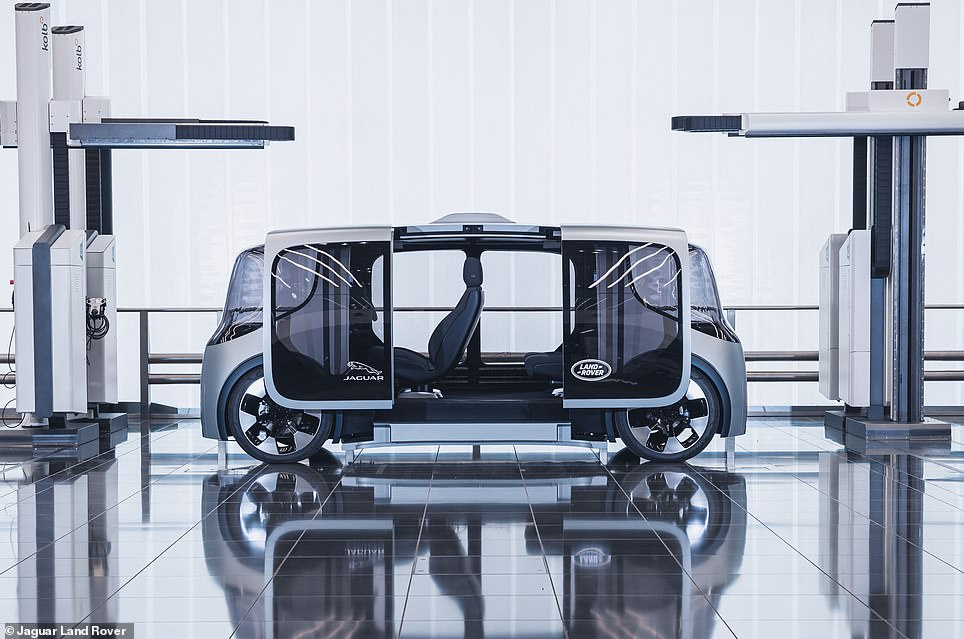 The UK's biggest car maker has today unveiled a new driverless machine that will take part in an autonomous vehicle trial on UK roads