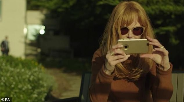 Brand tracking company Concavefound there was 13 minutes of air time for Apple products in the second season of Nicole Kidman (pictured here with an iPhone) fronted Big Little Lies