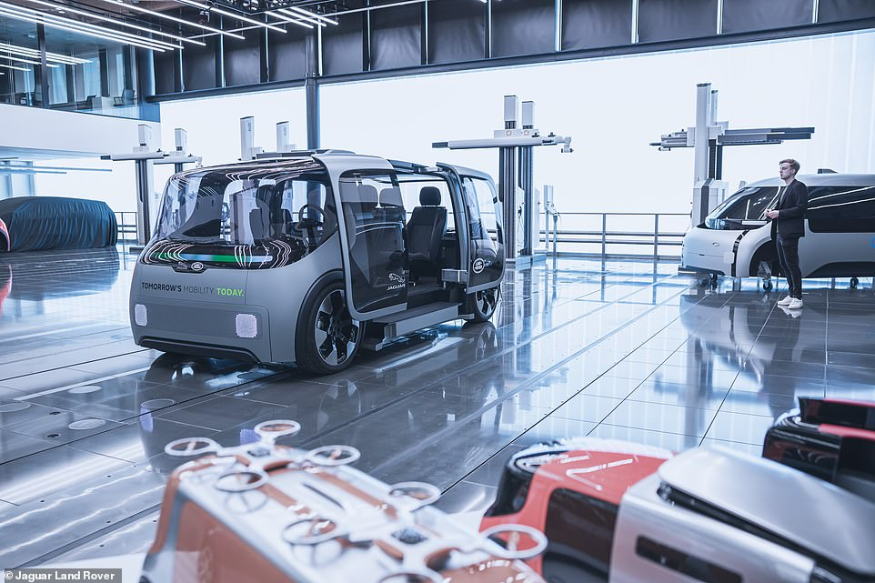 The pilot programme for the self-driving vehicles to be used on public roads around Coventry is planned 'from late 2021', JLR confirmed in a statement on Tuesday