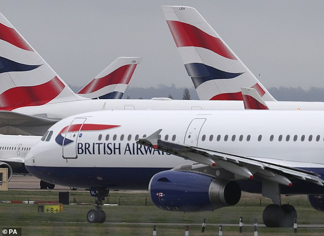 IAG, the owner of BA, said it would cut its flying capacity by at least three-quarters in April and May