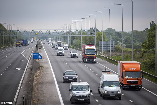 Life on the roads after lockdown: Some 22% of drivers polled said they will drive LESS when the coronavirus restrictions are eased by the Government
