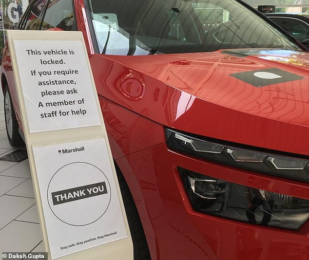 Back in business:Having closed its 119 dealerships from March 23, Marshalls reopened its after-sales departments on May 26 and opens its showrooms from Monday
