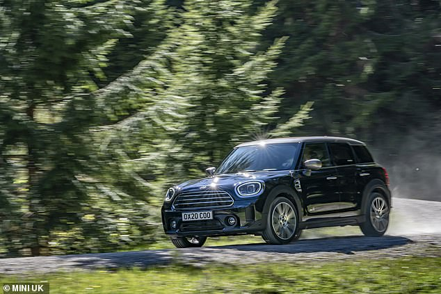 Not so Mini: This is the revised Mini Countryman SUV - and it's a complete contradiction of the brand name