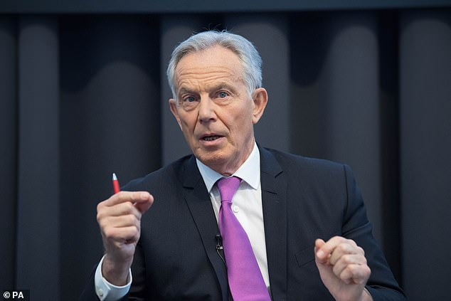 Russel Chambers is one of the best connected bankers in the Square Mile – in 2004 the then Prime Minister Blair (pictured) was pictured on his yacht off Barbados