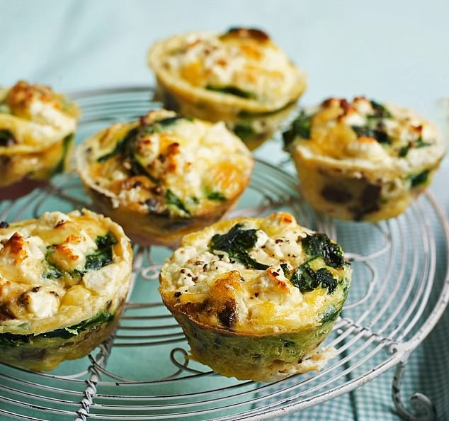 These glorious asparagus and feta muffins are ideal for a healthy brunch and can be enjoyed either warm or cold