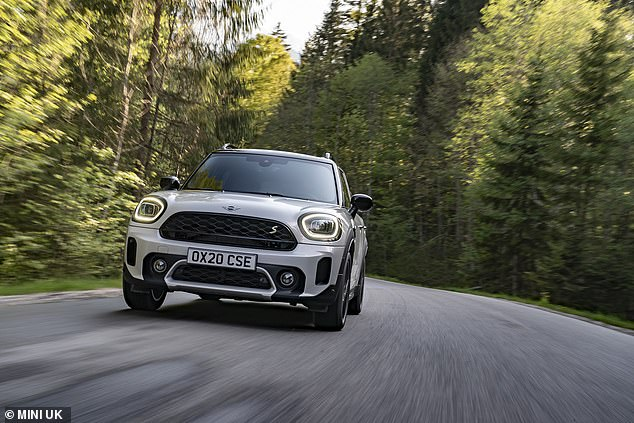 While it might carry the Mini name, it doesn't share the original's dimensions, with the Countryman SUV measuring in at 4.3-metres long and over 2-metres wide