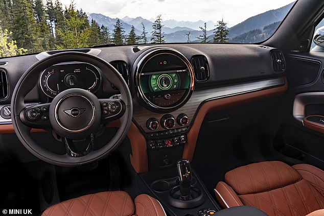 The cabin gets a new digital dashboard display with 5-inch colour screen as standard