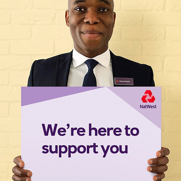 Message: NatWest's adverts during lockdown have given the impression the bank is always there to help customers