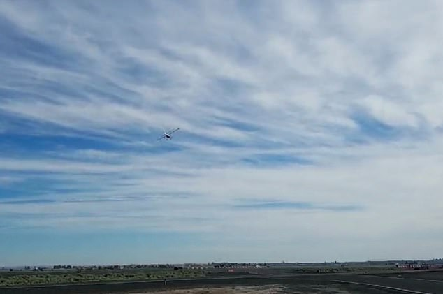 The Moses Lake facility, where the electric plane was being tested, is vast and was once used as an alternate landing site for the space shuttle, said magniX