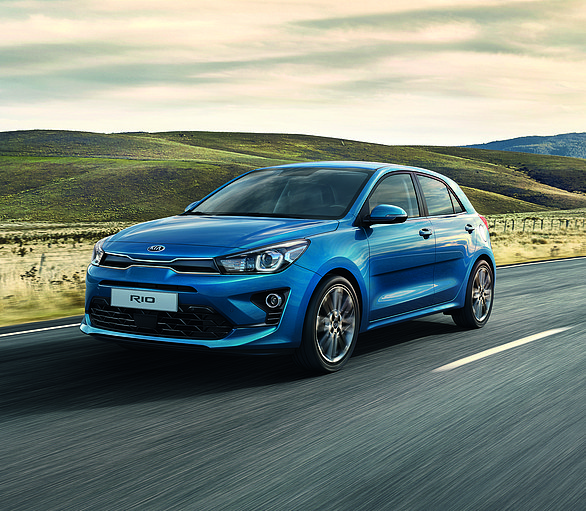 Hitting the road:The new, upgraded fourth generation Kia Rio has a range that for the first time includes an electrified petrol 48-volt mild hybrid powertrain