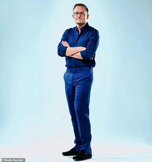 Dr Michael Mosley (pictured), who has penned a book offering advice on how to minimise your risk of complications if you contract covid-19, has shared a selection of healthy recipes that boost your immune system