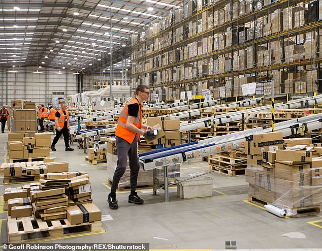 Huge opportunity: With customers such as Amazon, mega-warehouse firms are well placed to cash in on the growth in online shopping