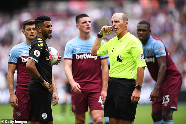 Slow-motion replays used as part of the video assistant referee (VAR) system have a positive impact on decisions made on the field, new research suggests.Mike Dean listens for a VAR decision before awarding Manchester City a penalty during the Premier League match between West Ham United and Manchester City at London Stadium earlier this season