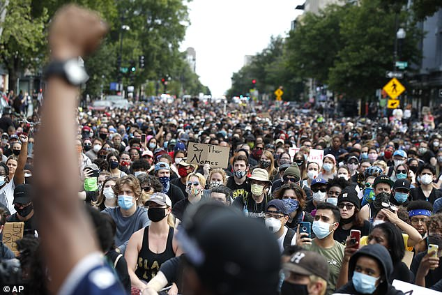 Floyd was killed on May 25 in Minneapolis, Minnesota when Officer Derek Chauvin knelt on his neck until he lost consciousness – autopsies have since deemed the death a homicide. Americans have since taken to the streets to protest his death and police brutality