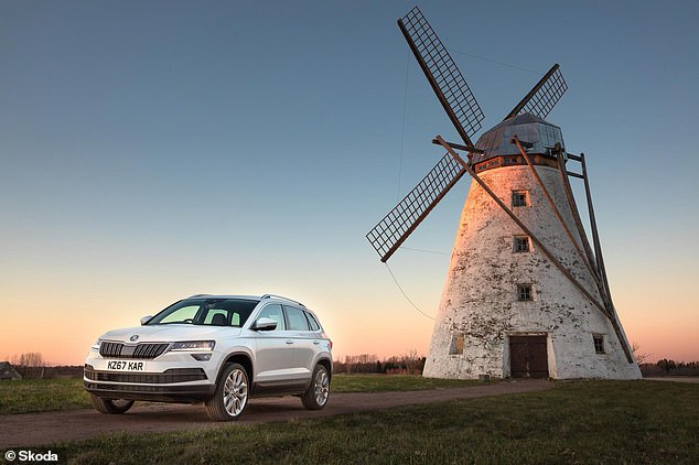 The Karoq is one of three Skoda SUVs. It;s the one with the best discounts across the range too