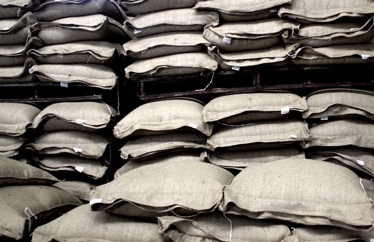 coffee prices at warehouse