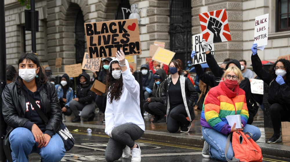 London black lives matter protest