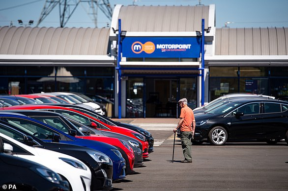 Used car dealers, like Motorpoint, are allowed to re-open today, as long as they have Covid-measures in place