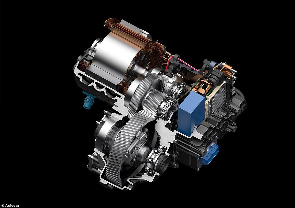 Autocar was also provided with images of one of the powerful electric motors that would have powered the pricey electric SUV