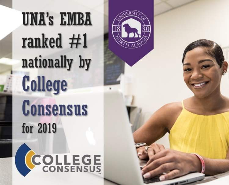 online MBA from UNA