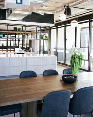 The communal top floor area of Liv Indigo, a space that is freely available for all renters in the building.