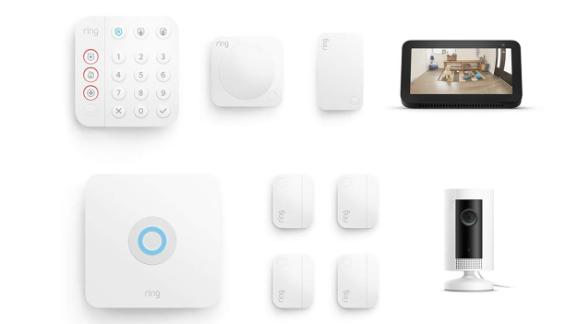 Ring Alarm 8-Piece Kit with Ring Indoor Cam and Echo Show 5
