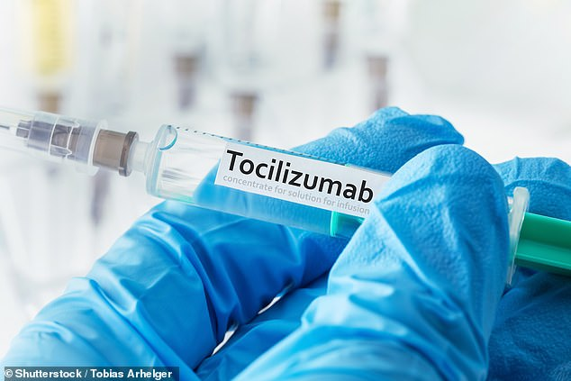 Doctors say anti-inflammatory treatment tocilizumab could save lives by halting the immune system 'storm' that has killed thousands of virus patients (file photo)