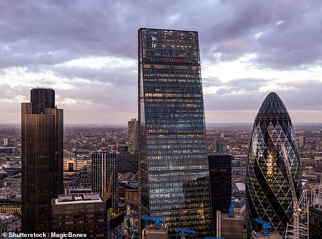 Dark days:A total of 1.17m firms have borrowed £49.43billion through schemes set up by Chancellor Rishi Sunak to help them survive the pandemic